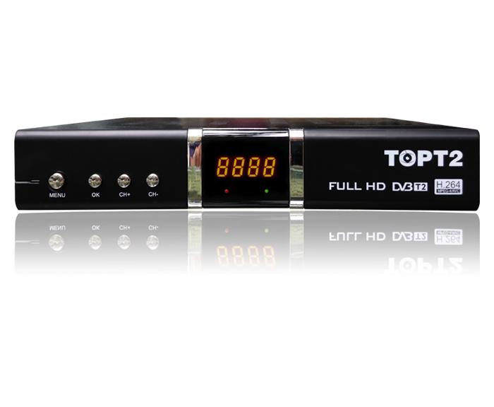 Đầu thu truyền hình số mặt đất DVB T2 Top T2